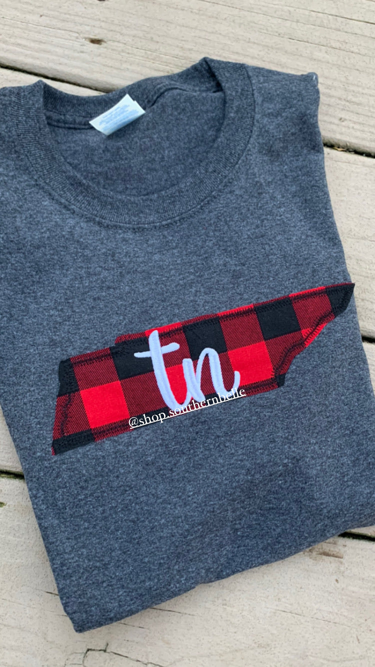 SALE Plaid TN Long Sleeve