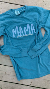 Mama Comfort Color Long Sleeve  T
