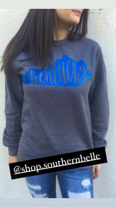 SALE Crewneck Kentucky Sweatshirt