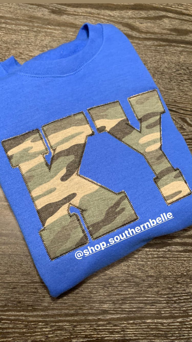 Camo Soft Short Sleeve T - The Monogram Shoppe KY