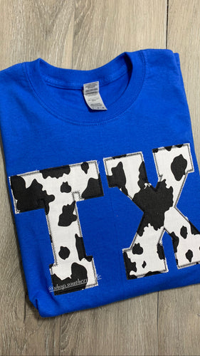 Cow Long Sleeve — ANY STATE