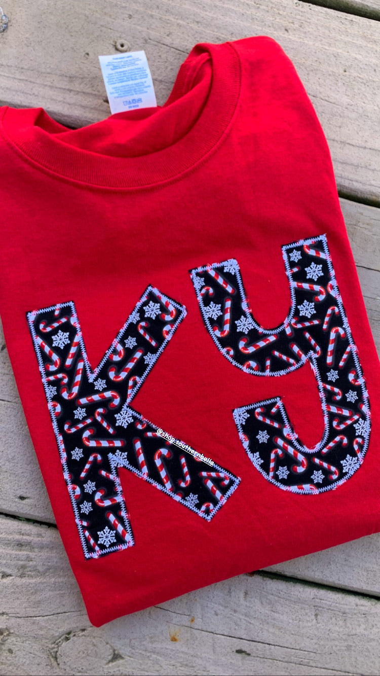 SALE Candy Cane Long Sleeve T