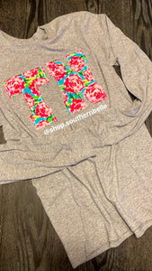 TN Long Sleeve T - The Monogram Shoppe KY
