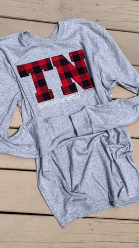 Red Buffalo Tennessee Long Sleeve - The Monogram Shoppe KY
