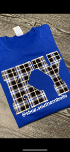 Plaid Kentucky Long Sleeve - The Monogram Shoppe KY
