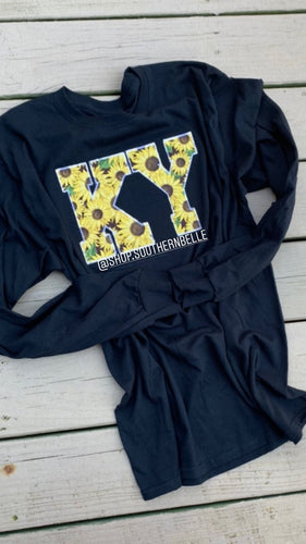 Sunflower Long Sleeve -- ANY STATE