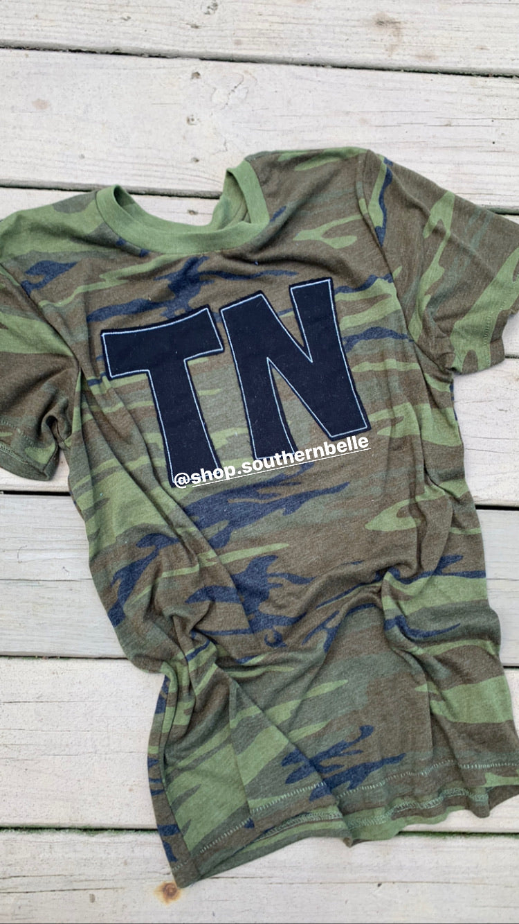 Camo TN Short Sleeve T Unisex - The Monogram Shoppe KY