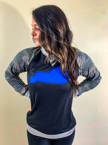 Camo Kentucky Long Sleeve