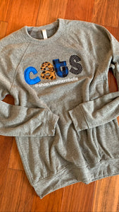 Cats Soft Sweatshirt - The Monogram Shoppe KY