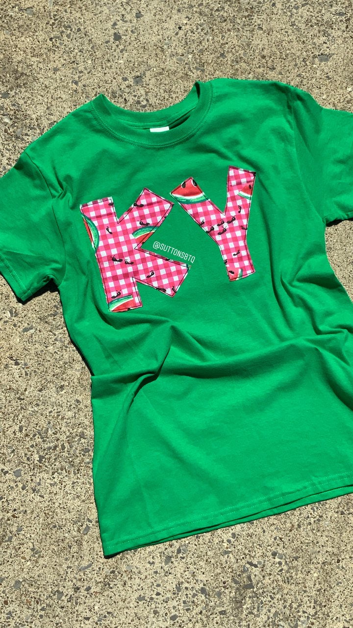 Watermelon Short Sleeve T -- ANY STATE