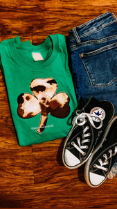 Clover Cow Short Sleeve