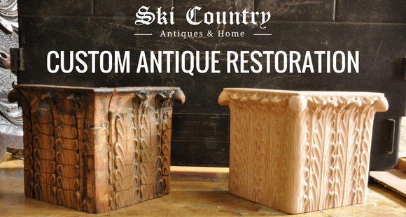 Custom Antique Restoration: 1910 Bookcase
