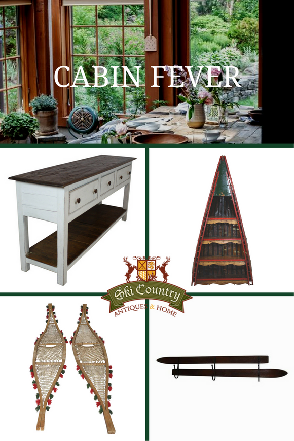 Cabin Fever: Rustic Cabin Decor Ideas