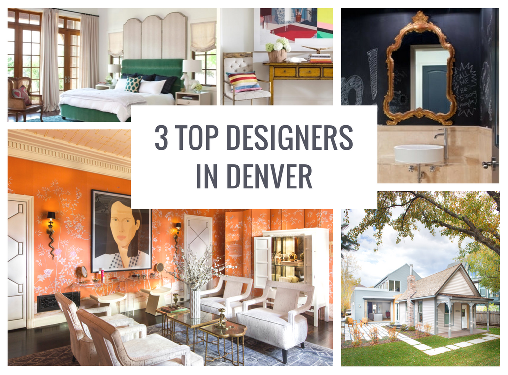 3 Top Interior Designers in Denver, CO