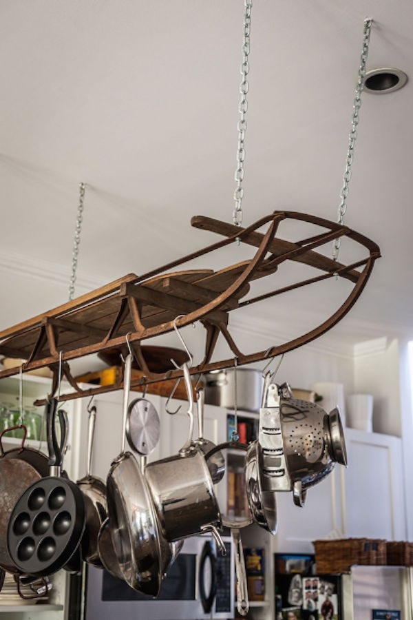Decorating With Vintage Skis Amp Antique Sporting Goods