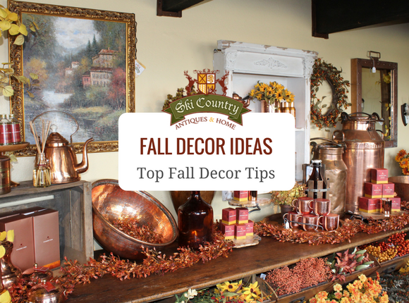 Ski Country Antiques & Home Fall Decor Tips