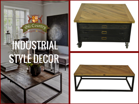 Industrial style decor guide