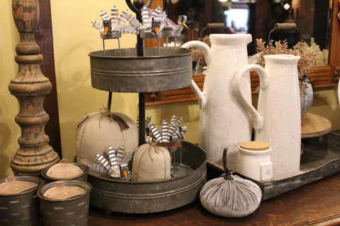 Fall Farmhouse decor at Ski Country Antiques