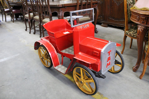 antique children's pedal cars ski country