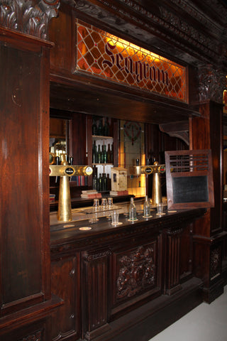 european antique bar ski country