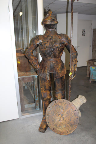 antique suit of armor ski country