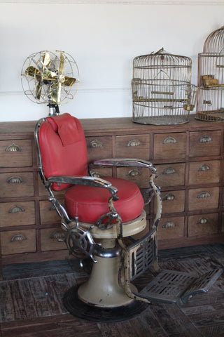 antique reclining chair ski country