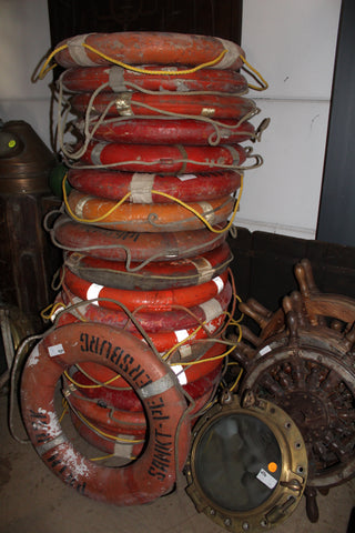 antique safety lifebuoys ski country antiques
