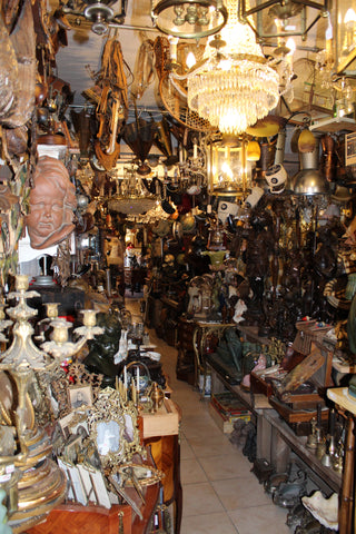 european antique shop filled up - ski country