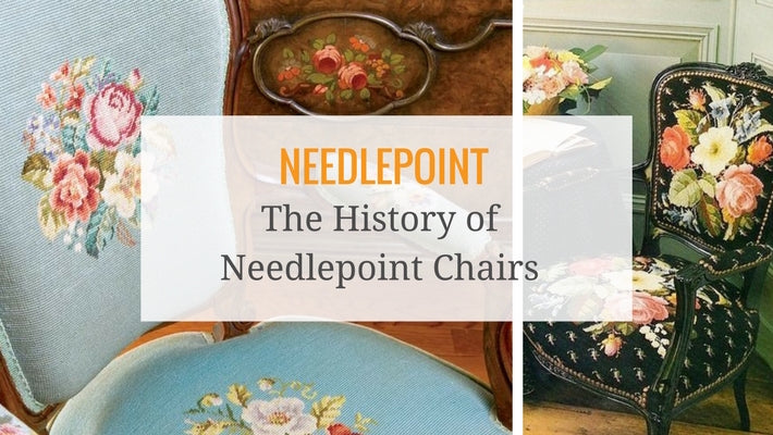 Needlepoint chairs are classic and romantic. - The History Of Needlepoint Chairs - Ski Country Antiques & Home