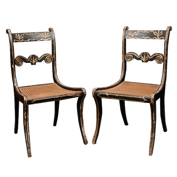 Regency - Identifying Antique Chairs