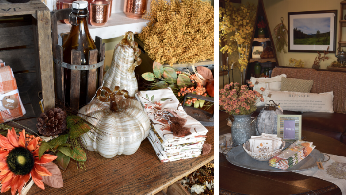 fall home decor on sale