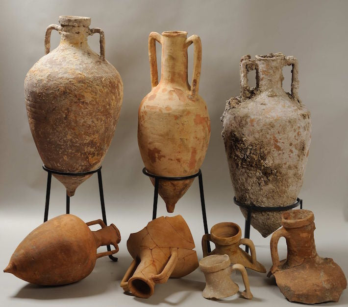 Wine Storage - Amphorae