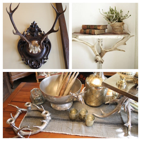 cabin decor - antlers