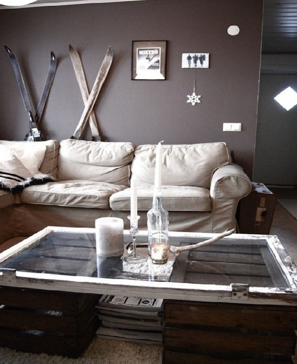 Decorating With Vintage Skis Antique Sporting Goods Ski Country