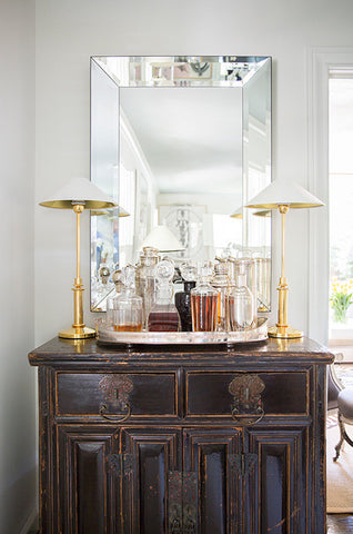 antique wet bar