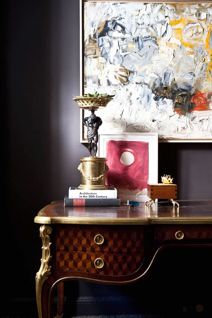 Decorate with antiques