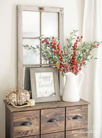 Fall plants decor
