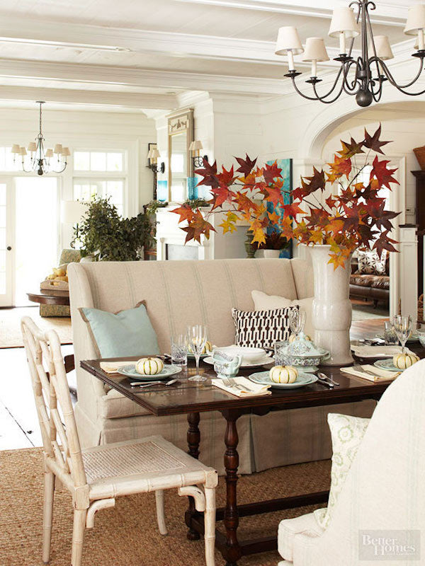 Summer to Fall Decor Transition