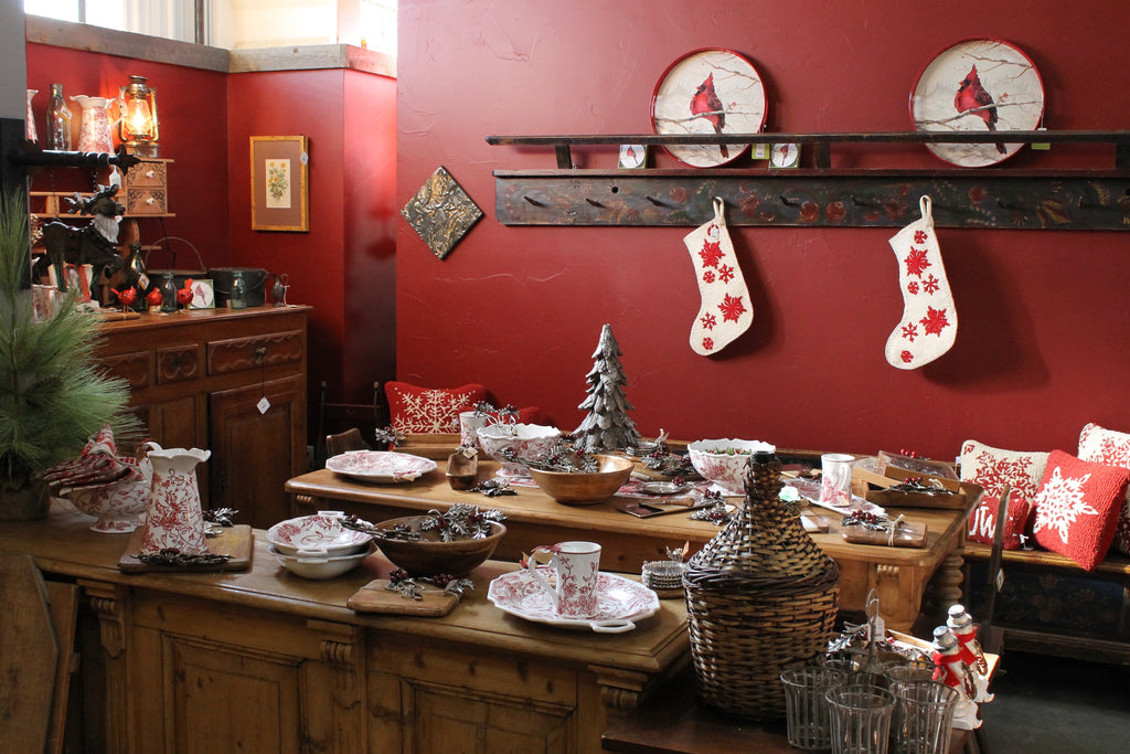 Festive homeware - Ski Country Antiques