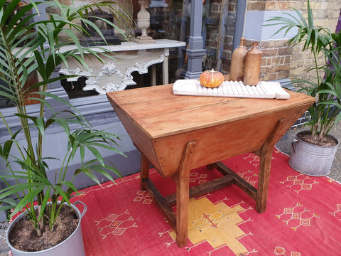 french dough table or trough
