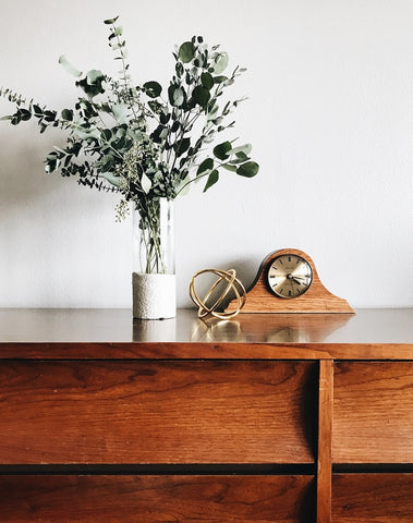 Incorporating antiques into your home.