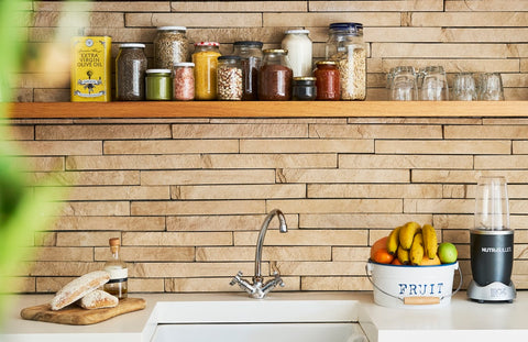 Try an open cabinet approach this spring