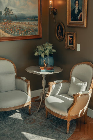 Try blending a combination of modern and antique.