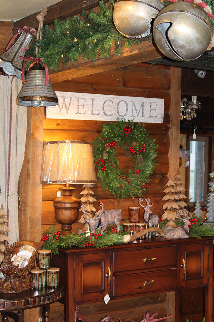 Top 7 Decorating Ideas For A Rustic Christmas Ski Country Antiques Home