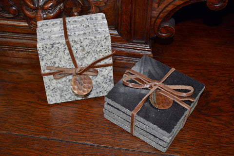 gift idea for grandpa - granite coasters