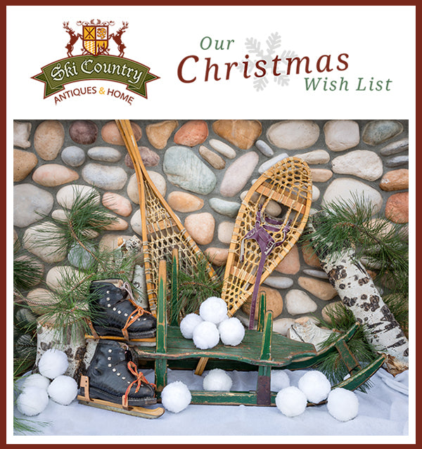 Sleds skates and snowshoes