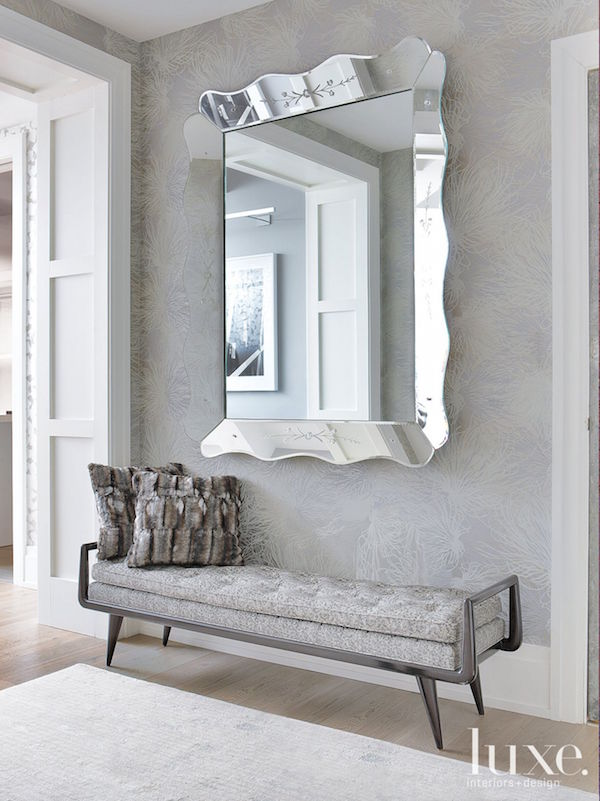 Decorating with antique mirrors