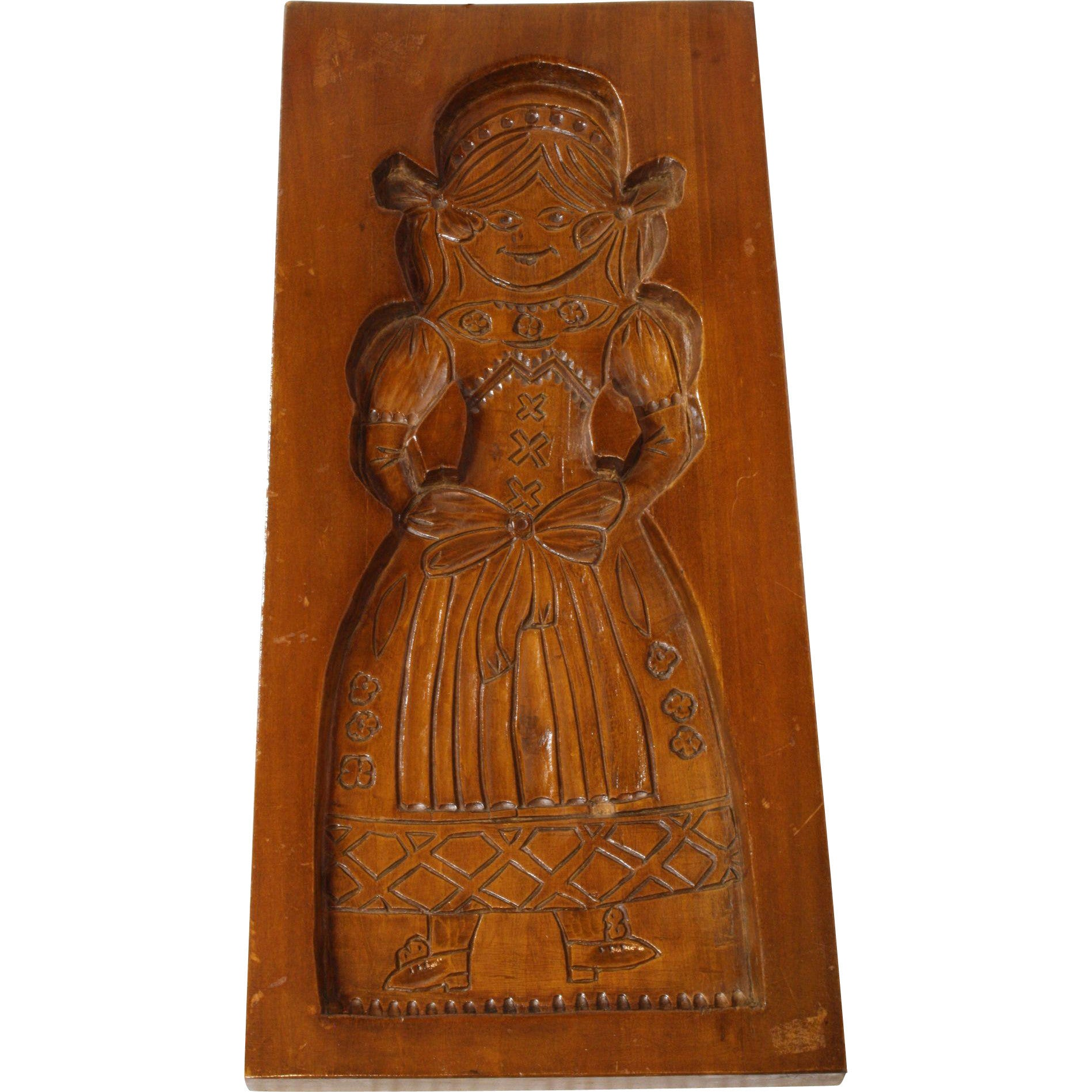 ski-country-antiques - Speculaasplank Cookie Mold