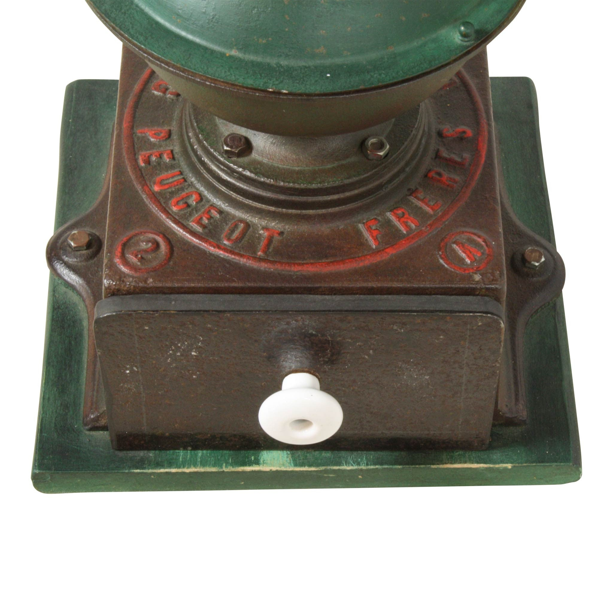 Vintage French Industrial Coffee Grinder