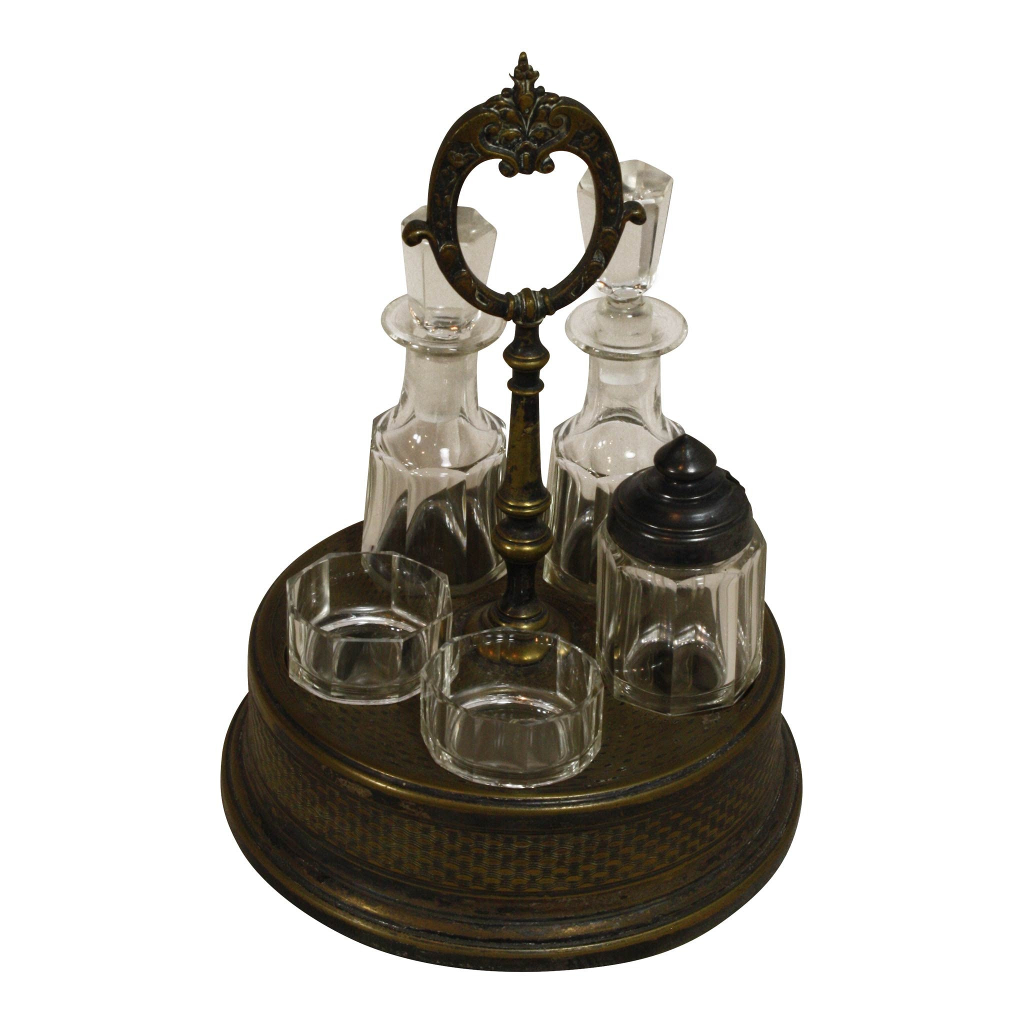 Glass Cruet - Oil & Vinegar Set
